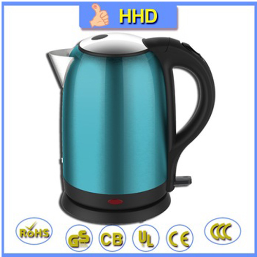 Ce Rohs Approval 1800w Stainless Steel Electric Kettle