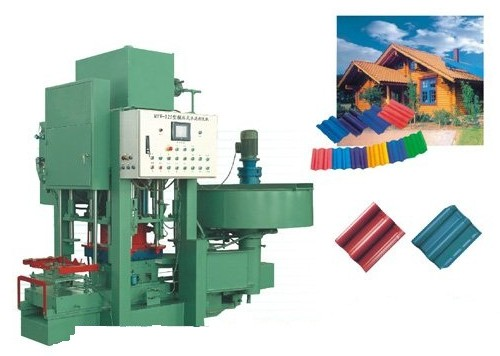 Cement Color Tile Machine