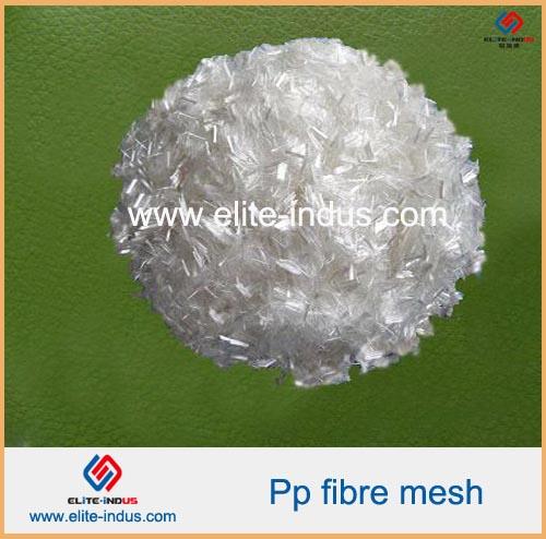 Cement Reinforcing Polypropylene Fibers Pp Mesh Fiber