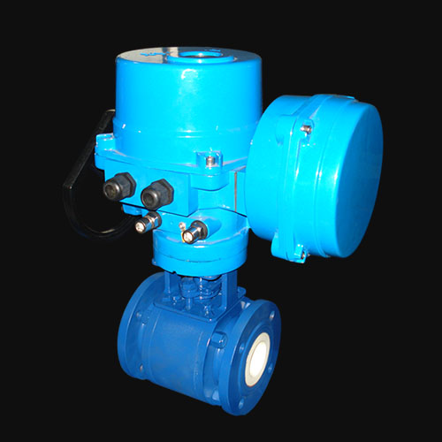 Ceramic Full Lined Floating Ball Valve