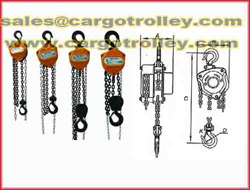 Chain Block Applied On Rigging Equipment