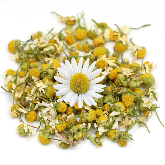 Chamomile Flower Whole Tbc Petals Pollen