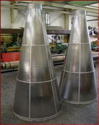 Champion Wedge Wire Strainer All Welded Vee Screen