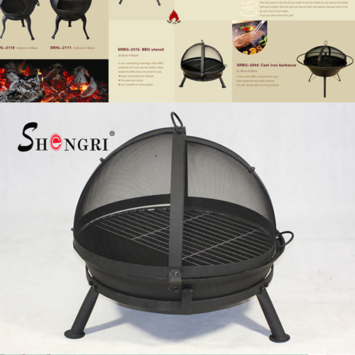 Charcoal Fire Pit Bbq Grill