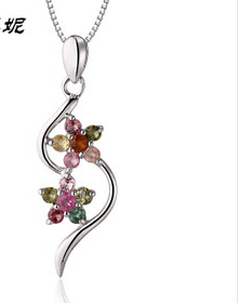 Charm Necklace Heart Open