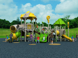 Cheap Outdoor Playground Equipment Slide For Kids Fy03601