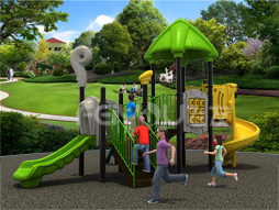 Cheap Outdoor Playground Equipment Slide For Kids Fy03801