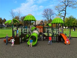 Cheap Outdoor Playground Equipment Slide Set Of Kids Fy01201