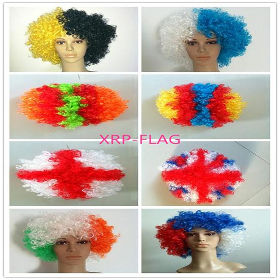 Cheap Party Wigs For Football Fans From E A Wig