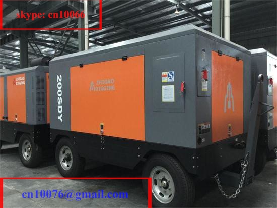 Cheap Prices Portable Diesel Air Compressor Driven By Cummins Engine For Sale Chinese Supplier