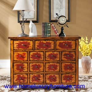Chests Wooden Cabinet Chest Of Drawers Living Room Furniture Jx 0968