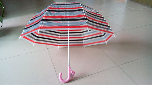 Children Transparent Umbrella