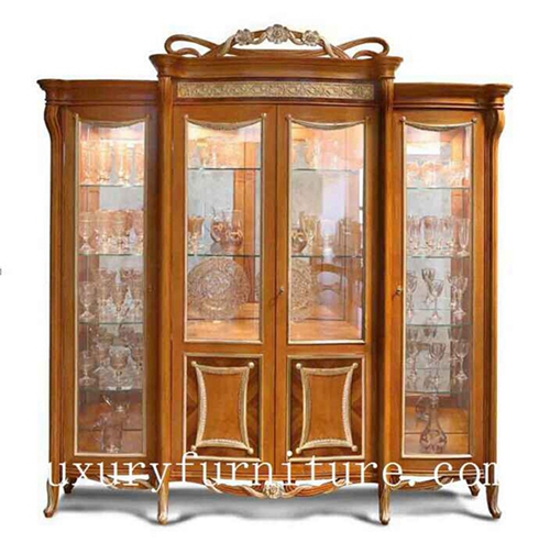 China Cabinet Displays Wall Mount Antique Decoration Fj 128c