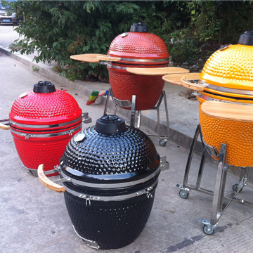 China Factory Wholesale Outdoor Ktichen Kamado Charcoal Grills