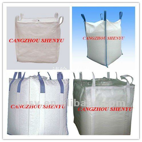 China Famous Big Bag Bulk Jumbo Pp Super Sacks Ton Baffle Bags Flexible Container For Sale