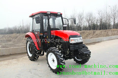 China Farmer Tractor 55hp Load 7740kg Four Wheel Drive