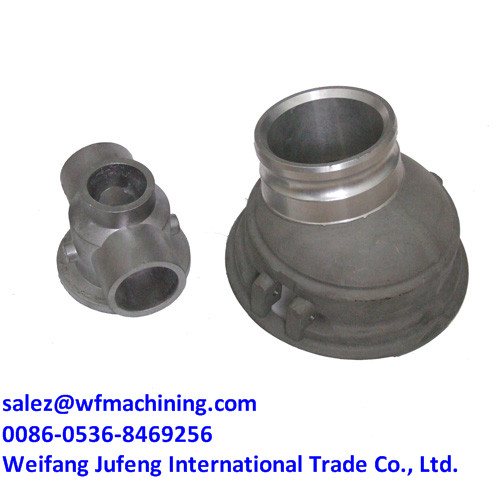 China Foundry Sand Casting Pump Body With Machining