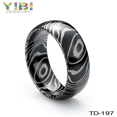 China Gold Supllier Tungsten Carbide Men Refined Hot Sale Rings