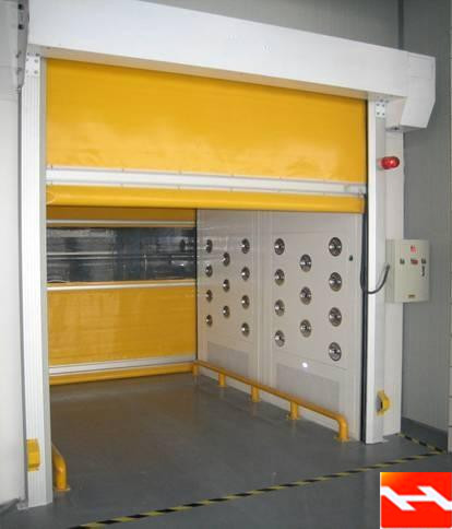 China High Speed Rolling Door Supplier Pvc Fast Shutter Manufacturer