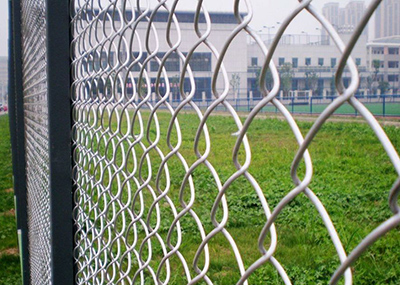 China Hot Sale Chain Link Fence Made