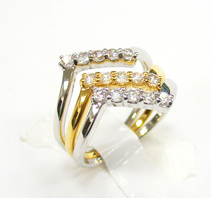 China Manufacturer Bling 925 Sterling Silver Cz Ring For Women