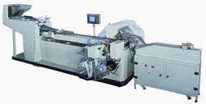 China Packing Machine For Round Tablet Roll Wrapping