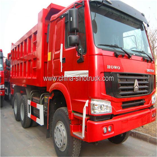 China Sinotruk Howo 6x4 Dumptruck