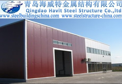 China Steel Structure Prefabricated Buildings Worshop Warehouse Container House Prefab