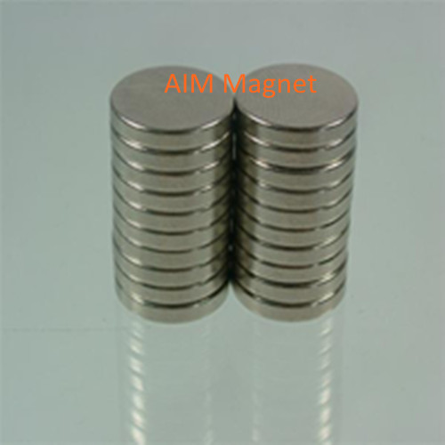China Super Strong Nickel D25 12mm Disc Magnets