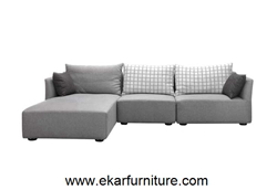 China Supplier Grey Fabric Sofa Modern Style Yx270