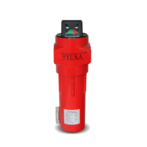 China Yuka Brand Coalescing Compressed Air Filter Seller Yd058