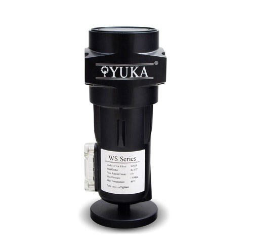 China Yuka Famous Brand Good Quality High Efficiency Air And Water Separator For Compressor