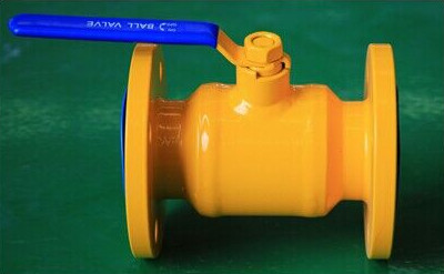 China Zigong Pipe Welding Flange Ball Valve