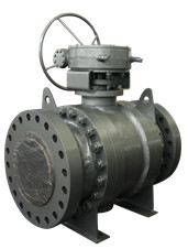 China Zigong Zigao Metal To Trunnion Mounted Ball Valve