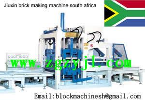 Chinese Brick Making Machine South Africa Plant