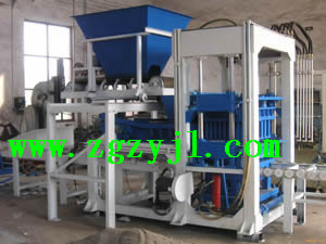 Chinese Hydraulic Brick Making Machine Plant