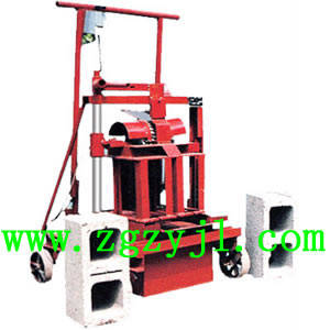 Chinese Manual Brick Making Machine Plant