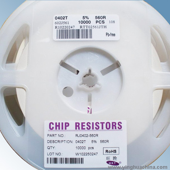 Chip Resistor Smd Different Values Are Available