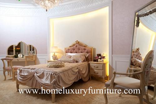 Chlidren Furniture Queen Bed Princess Room Children Bedroom Dressers Floor Mirror Fb 116