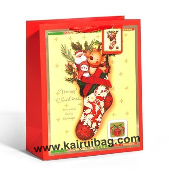 Christmas Stocking Design Gift Packaging Bag Kr068 3