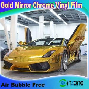 Chrome Color Change Car Vinyl Film For Automobile