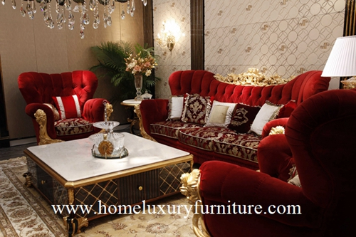 Classic Sofa Set New Coffee Table Living Room Sets Corner Made In China