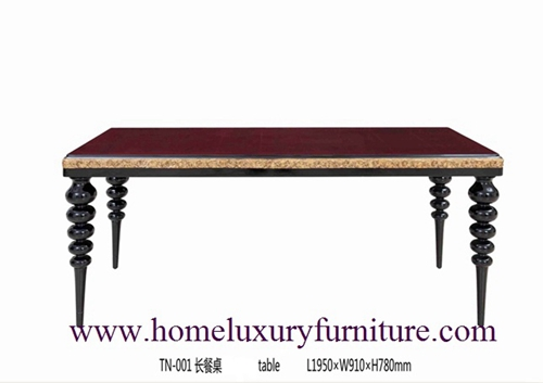 Classic Table Dining Tables Wood Room Furniture Tn001