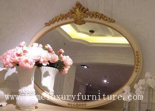 Classical Wooden Mirror Decorat Dressing Wall Fg 101a