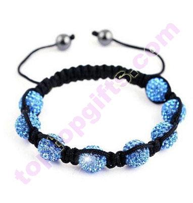 Clay Rhinesotne Shamballa Bracelet Tresor Paris Jewelry