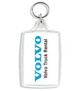 Clear Acrylic Keychain