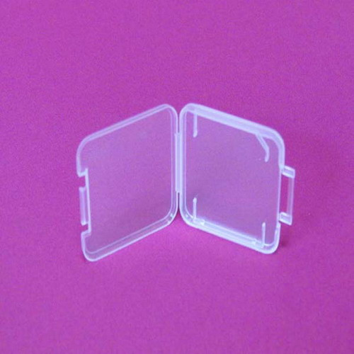Clear Pp Memory Sd Card Package Case