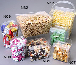Clear Pvc Candy Pails And Tubs