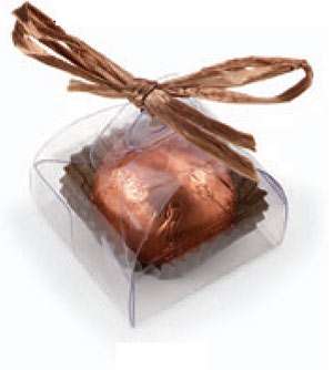 Clear Single Tote For Chocolate