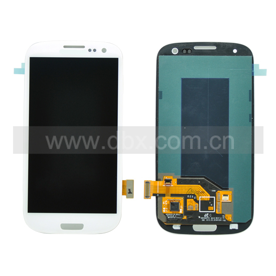 Click To Enlarge Lcd With Touch Screen For Samsung Galaxy Siii I9300 White